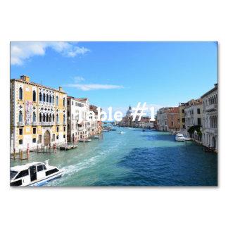 Venice Table Cards