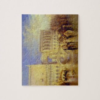Venice, the Bridge of Sighs by J. M. W. Turner Jigsaw Puzzle