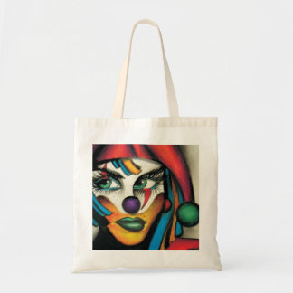 venice the clown tote bag