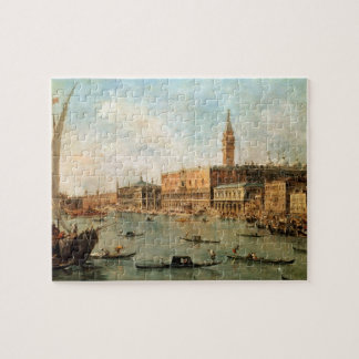 Venice: The Doge's Palace and the Molo from the Ba Jigsaw Puzzle