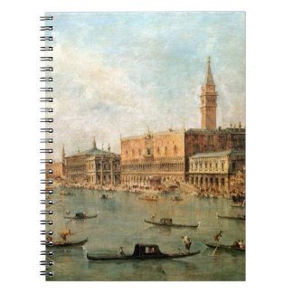 Venice: The Doge's Palace and the Molo from the Ba Spiral Notebook