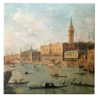 Venice: The Doge's Palace and the Molo from the Ba Tile