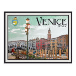 Venice - The Grand Canal Postcard