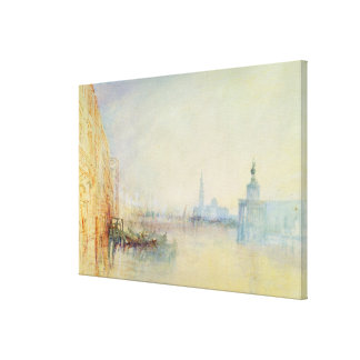 Venice, The Mouth of the Grand Canal, c.1840 (w/c Gallery Wrap Canvas
