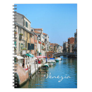 Venice travel notebook