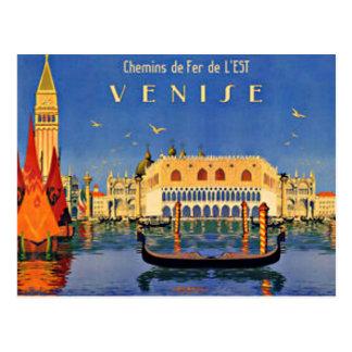 Venice Travel Postcard