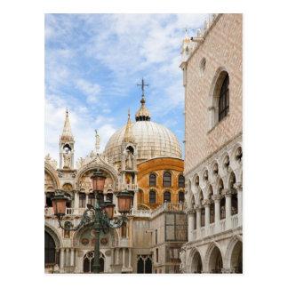 Venice, Veneto, Italy - Birds are perched on a Postcard