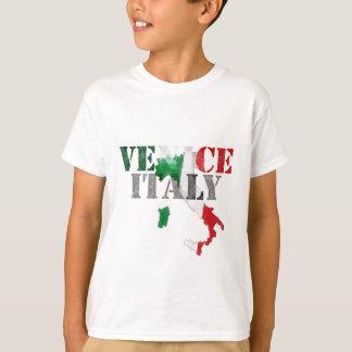 Venice Venezia Italy. Watercolor Art, Distressed T-Shirt
