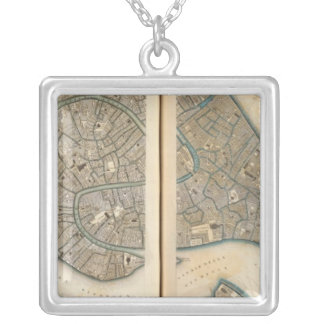Venice Venezia Venedig Silver Plated Necklace