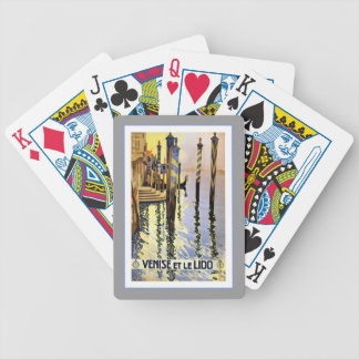 Venice Venise Italy Vintage Travel Playing Cards