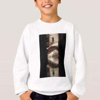 Venice View Of A  Bridge Sweatshirt
