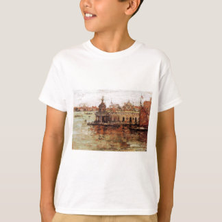 Venice - View of the Navy Arsenal by William Merri T-Shirt