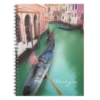 Venice vintage notebook