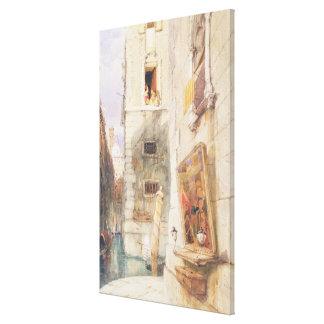 Venice (w/c) canvas print