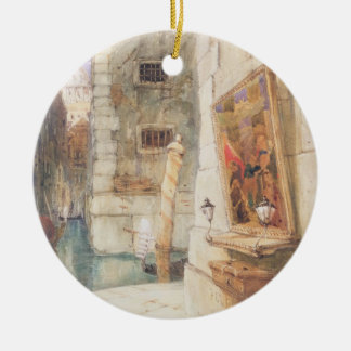 Venice (w/c) christmas ornament