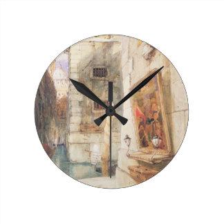 Venice (w/c) round clock