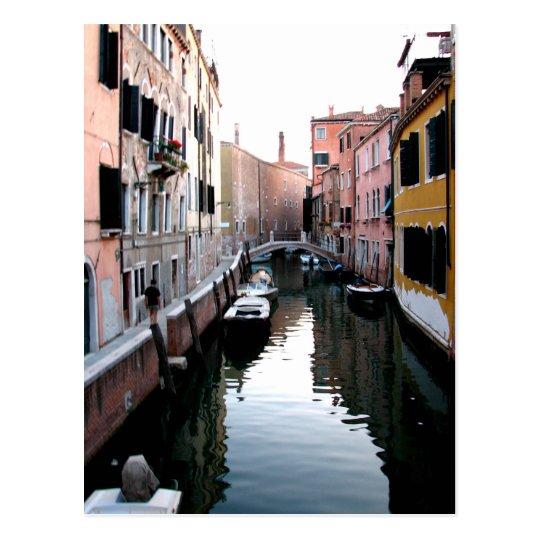 Venice Waters Postcard