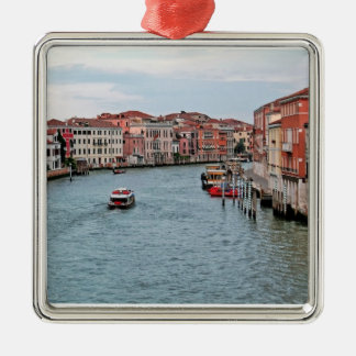 Venice Waterway Christmas Ornament