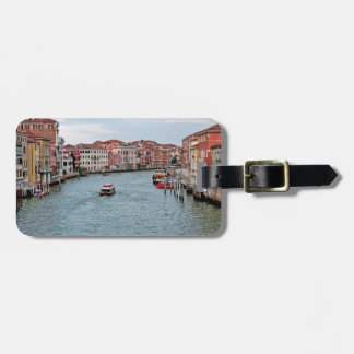 Venice Waterway Luggage Tag