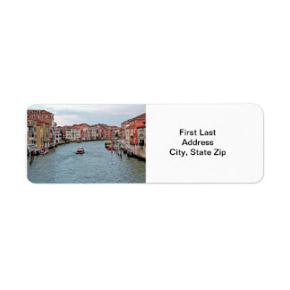 Venice Waterway Return Address Label