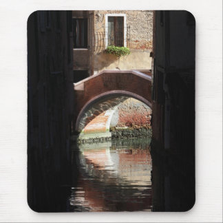 Venice Window View of a Bridge Mouse Mat