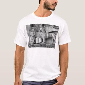 VENICE WINGED LION B/W T-Shirt