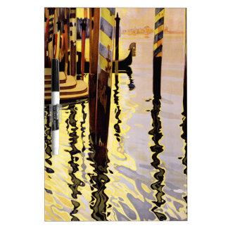 Venise et le Lido Dry Erase Board