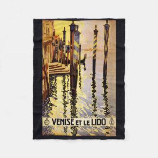 """""""Venise et le Lido"""" Italy vintage travel fleece"""