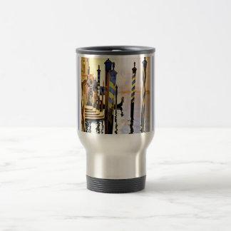 Venise et le Lido Venice Italy 15 Oz Stainless Steel Travel Mug