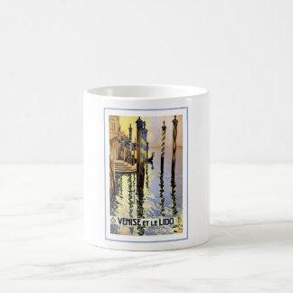 Venise Et Le Lido Vintage Classic White Coffee Mug