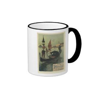 Venise, F Hugo D' Alesi Ringer Coffee Mug