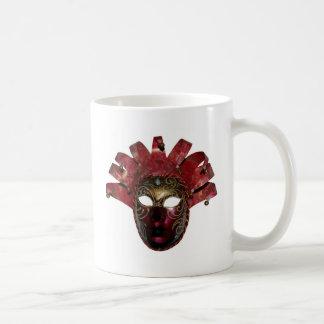 venitien mask basic white mug