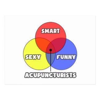 Venn Diagram .. Acupuncturists Post Cards