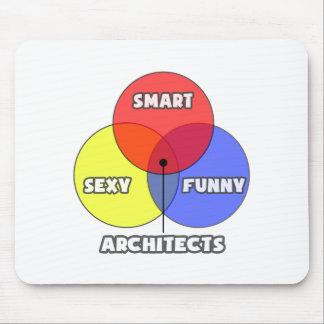 Venn Diagram Architects Mouse Pads