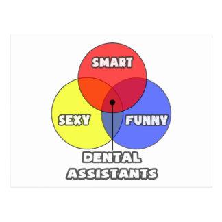 Venn Diagram .. Dental Assistants Post Cards