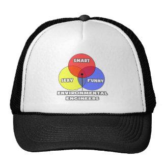 Venn Diagram .. Environmental Engineers Trucker Hat