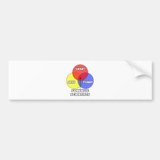 Venn Diagram .. Forensic Scientists Bumper Stickers