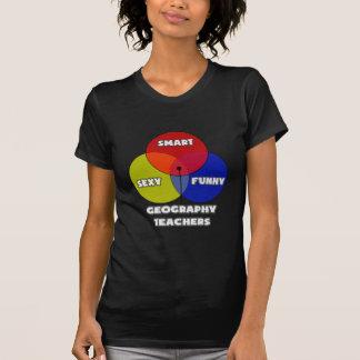 Venn Diagram .. Geography Teachers T-Shirt