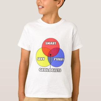 Venn Diagram .. Geologists T Shirt