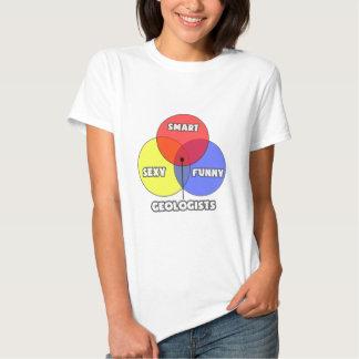 Venn Diagram .. Geologists Tshirts