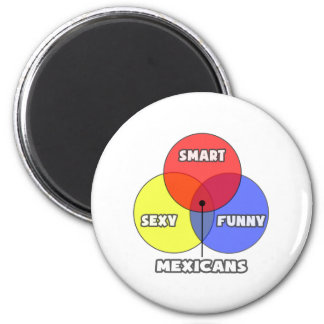 Venn Diagram .. Mexicans Magnet