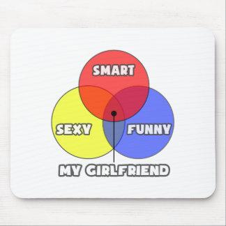Venn Diagram .. My Girlfriend Mousepad