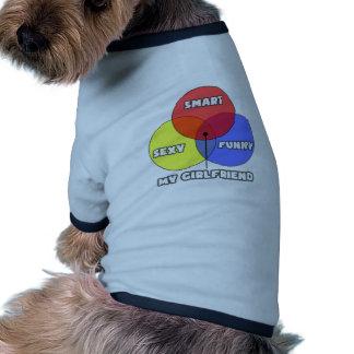 Venn Diagram My Girlfriend Pet T Shirt