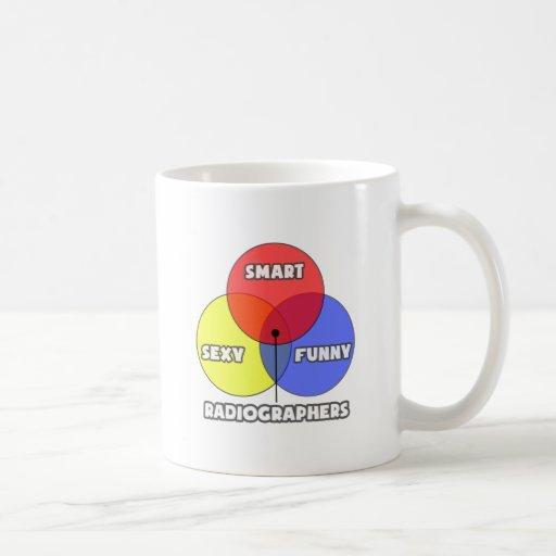 Venn Diagram .. Radiographers Mug