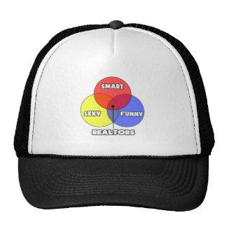Venn Diagram .. Realtors Trucker Hats