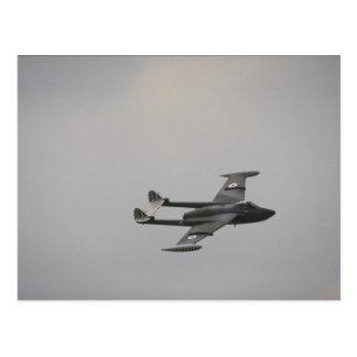 Venom RAF fighter Postcard