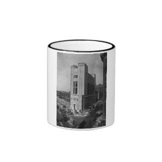 Vent Shaft Washington Street New York City 1928 Ringer Mug