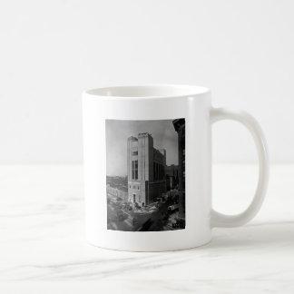 Vent Shaft Washington Street New York City 1928 Basic White Mug