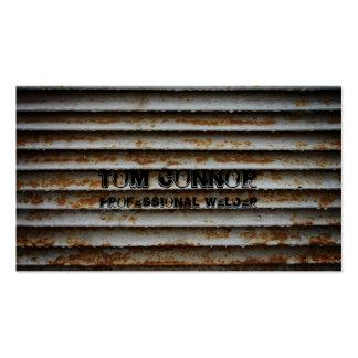 Ventilation Grilles - Welder Business Card