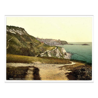 Ventnor, cliff walk, Isle of Wight, England rare P Postcard